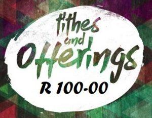 R100 tithes